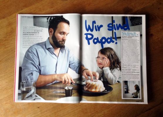 Copyright am Bild: WOMAN und Florian Rainer